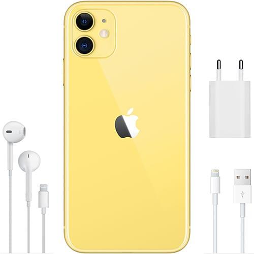 Apple iPhone 11 Gelb Lieferumfang