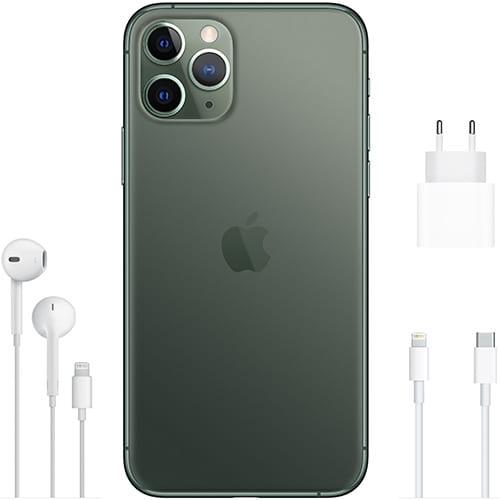 Apple iPhone 11 Pro Nachtgrün Lieferumfang