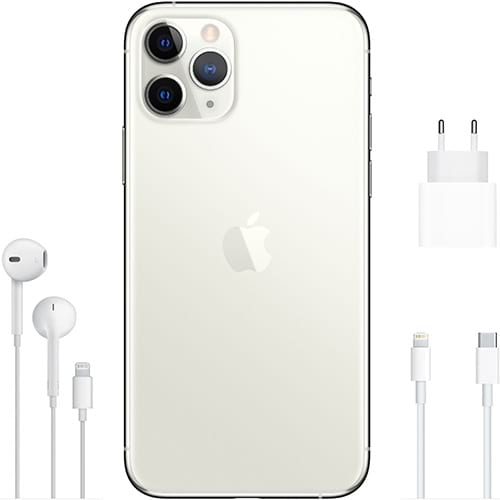 Apple iPhone 11 Pro Silber Lieferumfang
