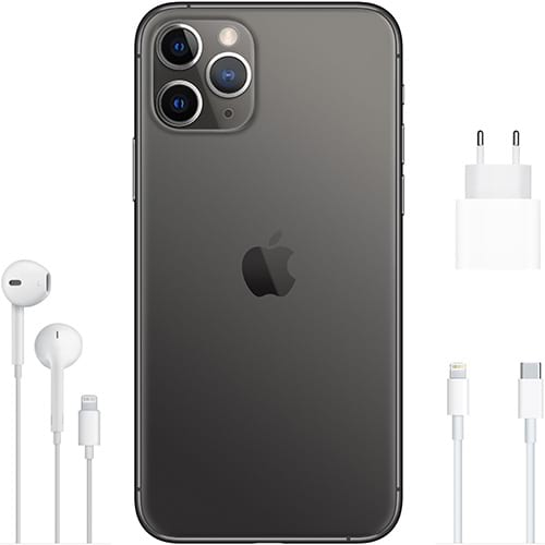 Apple iPhone 11 Pro Space Grau Lieferumfang
