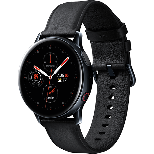 Samsung Galaxy Watch Active2 Black2 Vorne
