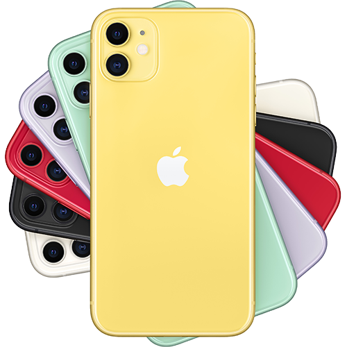 Apple iPhone 11 Gelb Fächer