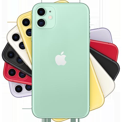 Apple iPhone 11 Grün Fächer