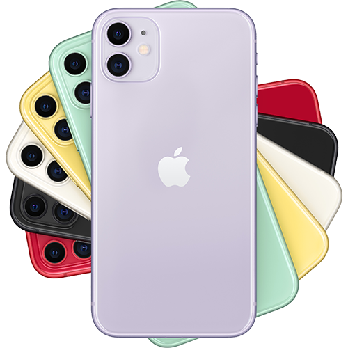 Apple iPhone 11 Violett Fächer