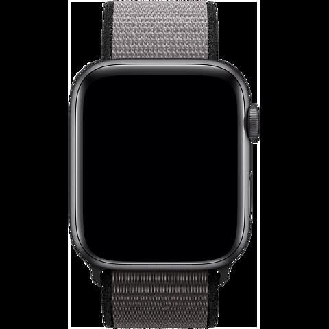 Apple Watch Armband Sport Loop - Eisengrau 99929918 seitlich