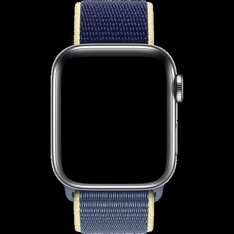 Apple Watch Armband Sport Loop  - Alaska Blau 99929917 seitlich