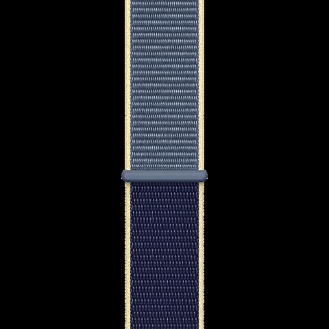 Apple Watch Armband Sport Loop  - Alaska Blau 99929917 hinten