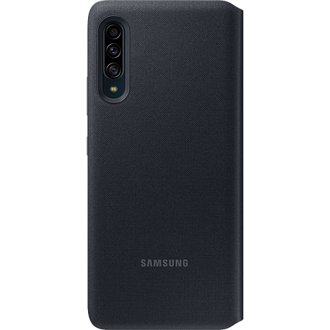 Samsung Wallet Cover Galaxy A90 5G - Schwarz 99929871 hinten