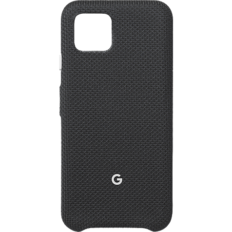 Google Stoff-Case Pixel 4 - Just Black 99929997 hero