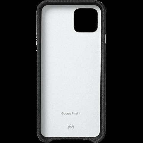 Google Stoff-Case Pixel 4 - Just Black 99929997 hinten