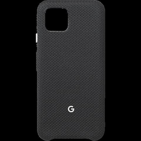 Google Stoff-Case Pixel 4 - Just Black 99929997 vorne