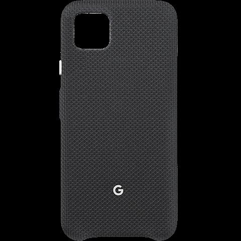 Google Stoff-Case Pixel 4 XL - Just Black 99930001 vorne
