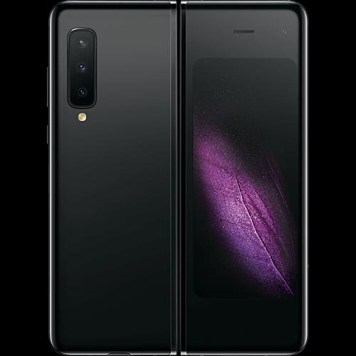 Samsung Galaxy Fold 5G Cosmos Black Hinten