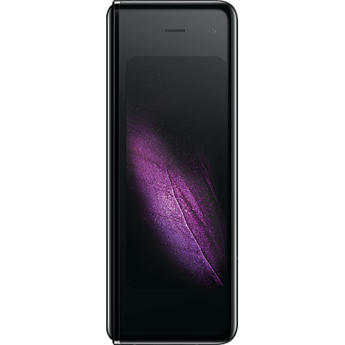 Samsung Galaxy Fold 5G Cosmos Black Vorne