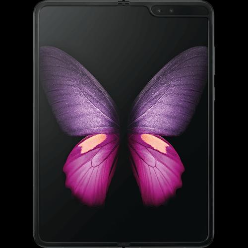 Samsung Galaxy Fold 5G Cosmos Black Vorne und Hinten
