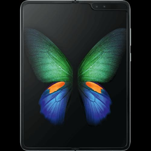 Samsung Galaxy Fold 5G Space Silver Vorne und Hinten