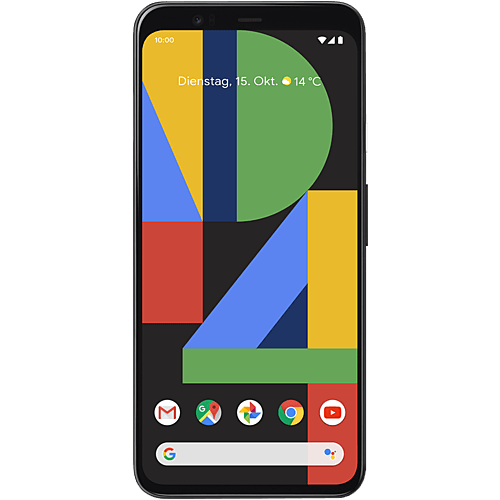 Google Pixel 4 Just Black Vorne