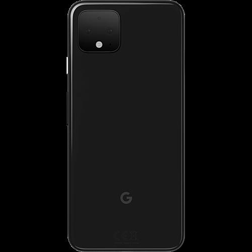 Google Pixel 4 Just Black Hinten