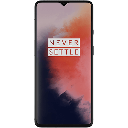 OnePlus 7T Frosted Silver Vorne