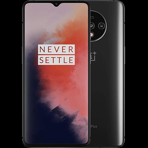 OnePlus 7T Frosted Silver Vorne und Hinten