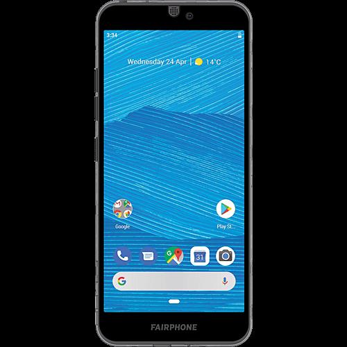 Fairphone 3 Dark Translucent Vorne