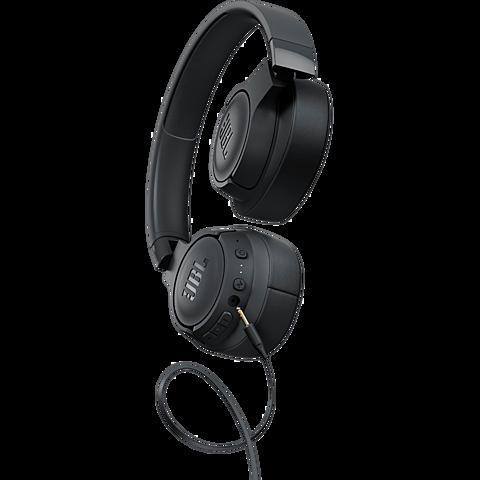 JBL TUNE 750 On-Ear Bluetooth-Kopfhörer - Schwarz 99930082 hinten
