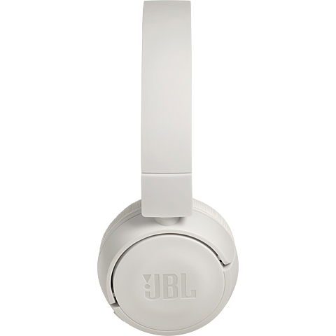 JBL TUNE 450 On-Ear Bluetooth-Kopfhörer - Weiß 99930079 seitlich