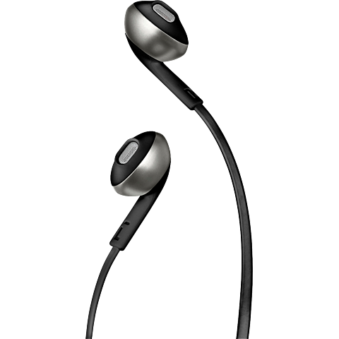 JBL TUNE 205 In-Ear Bluetooth-Kopfhörer - Schwarz 99930085 seitlich