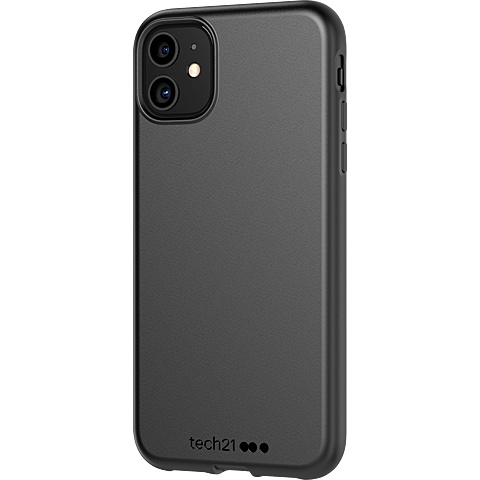 Tech21 Studio Colour Hülle Apple iPhone 11 - Schwarz 99930052 seitlich