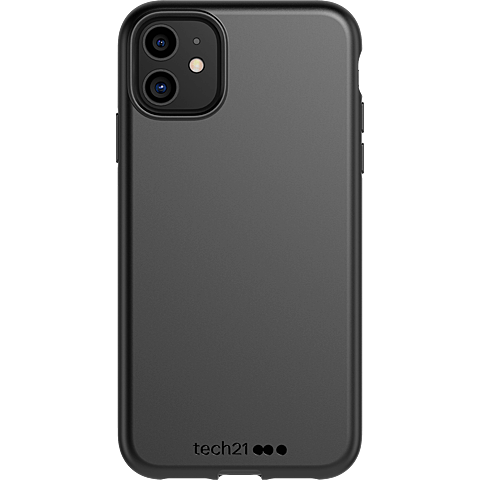 Tech21 Studio Colour Hülle Apple iPhone 11 - Schwarz 99930052 vorne