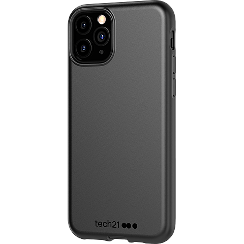 Tech21 Studio Colour Hülle Apple iPhone 11 Pro - Schwarz 99930054 seitlich