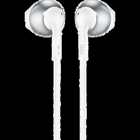 JBL T205 In-Ear Bluetooth-Kopfhörer - Weiß 99930086 hero