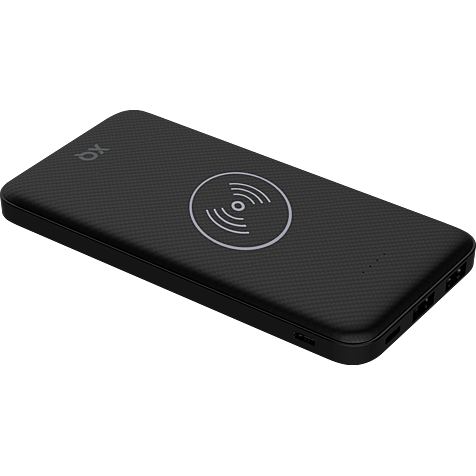 xqisit Induktive Premium Wireless Powerbank - Schwarz 99929867 hero
