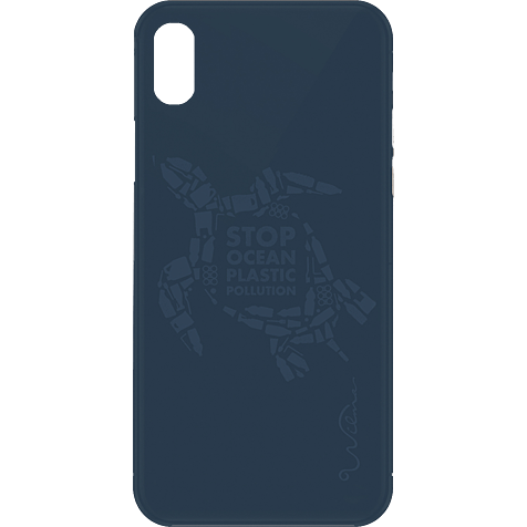 Wilma Stop Plastic Matt Apple iPhone X-XS - Turtle Blau 99930071 hero