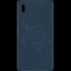 Wilma Stop Plastic Matt Apple iPhone XR - Turtle Blau 99930070 kategorie