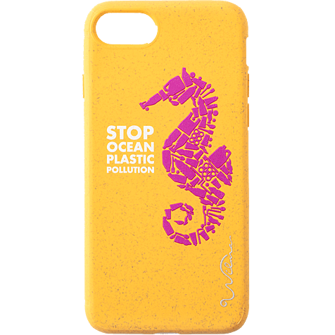 Wilma Stop Plastic Matt Apple iPhone 7-8 - Seahorse Gelb 99930066 hero