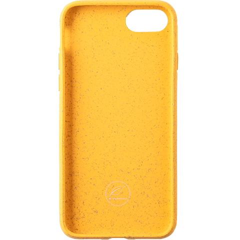 Wilma Stop Plastic Matt Apple iPhone 7-8 - Seahorse Gelb 99930066 hinten