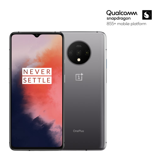OnePlus 7T Frosted Silver mit Qualcomm snapdragon 855+ mobile platform