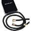 Necklacy Case Samsung Galaxy A40 - Elegant Schwarz  vorne thumb