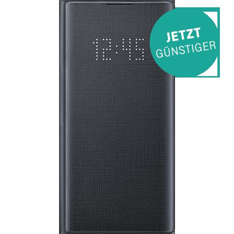 Samsung LED View Cover Galaxy Note 10 - Schwarz 99929632 vorne