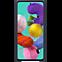Samsung Silicon Cover Galaxy A51 - Schwarz 99930308 hinten thumb