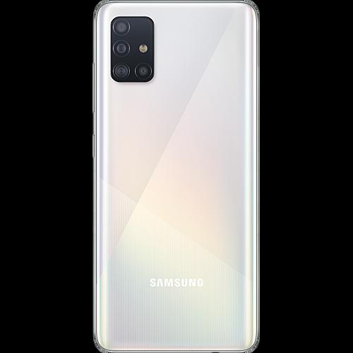 Samsung Galaxy A51 Prism Crush White Hinten