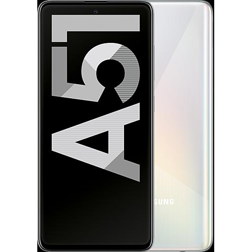 Samsung Galaxy A51 Prism Crush White Vorne und Hinten