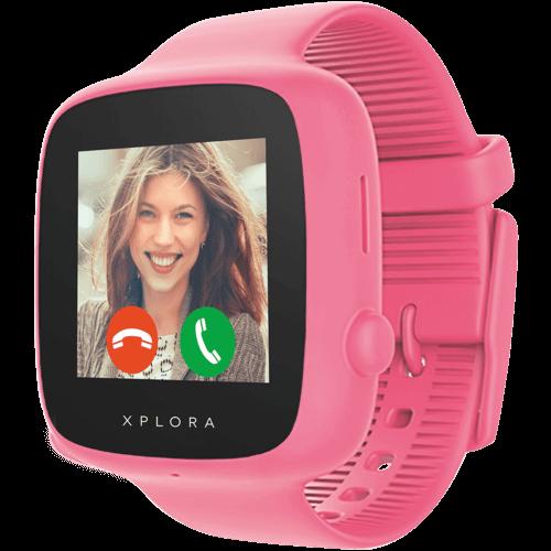 XPLORA GO Kids Pink Vorne
