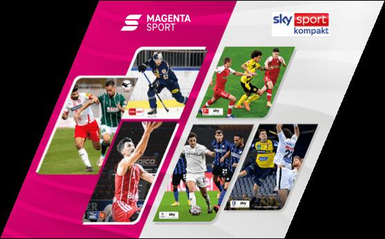 Magenta Sport mit Sky Kompakt