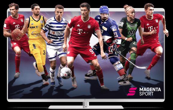 Exklusiver Live-Sport bei Magenta Sport