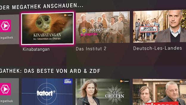 Was ist die Megathek bei MagentaTV?