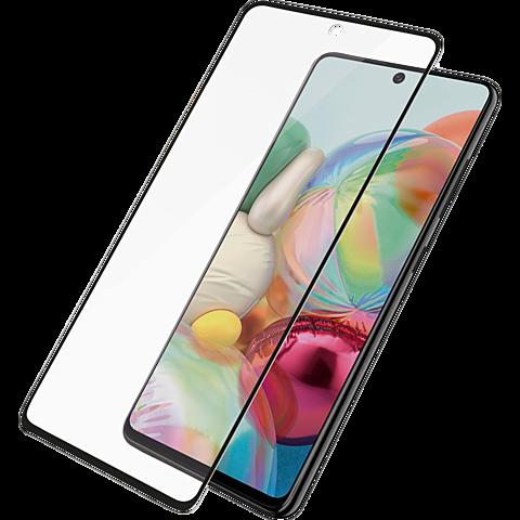 PanzerGlass Display Glas Samsung Galaxy A71 - Transpant 99930319 vorne
