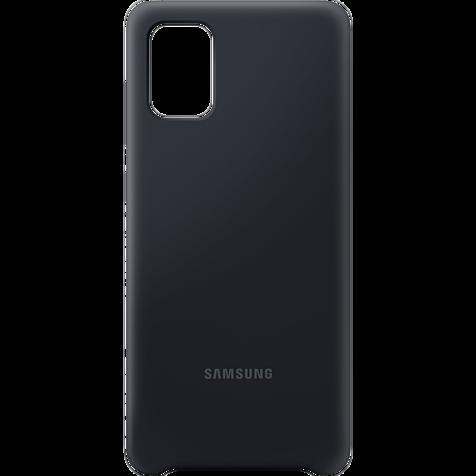 Samsung Silicone Cover Galaxy A71 - Schwarz 99930310 hero