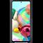 Samsung Silicone Cover Galaxy A71 - Schwarz 99930310 hinten thumb